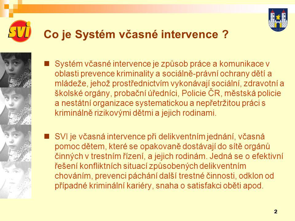 Co je Systém včasné intervence
