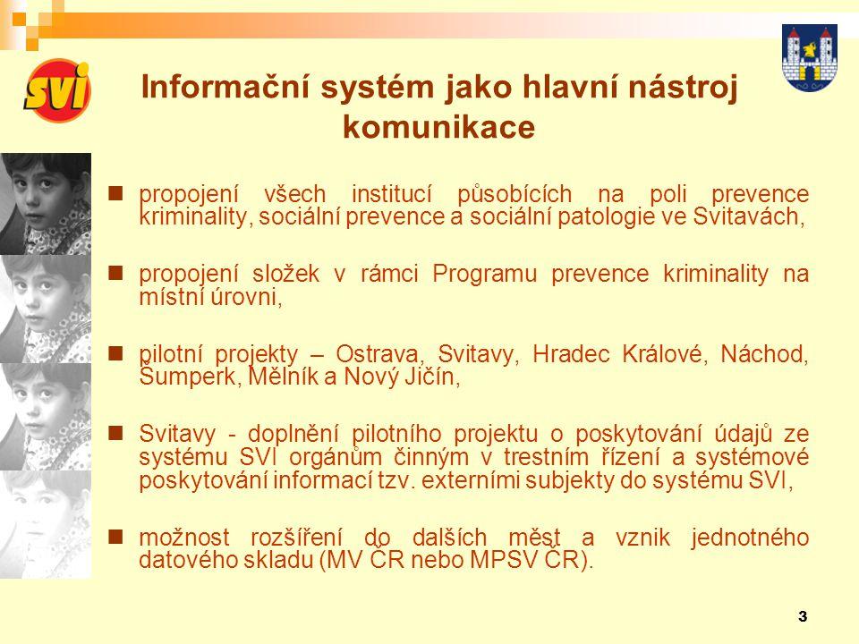 Informační systém jako hlavní nástroj komunikace
