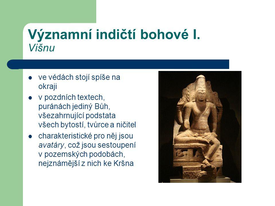 Významní indičtí bohové I. Višnu