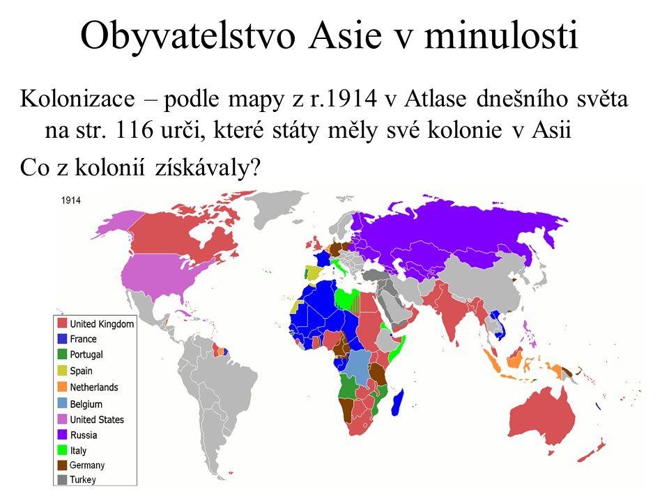 Obyvatelstvo Asie v minulosti