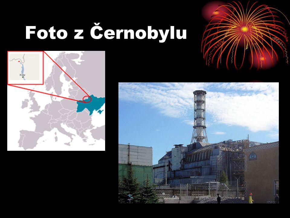 Foto z Černobylu