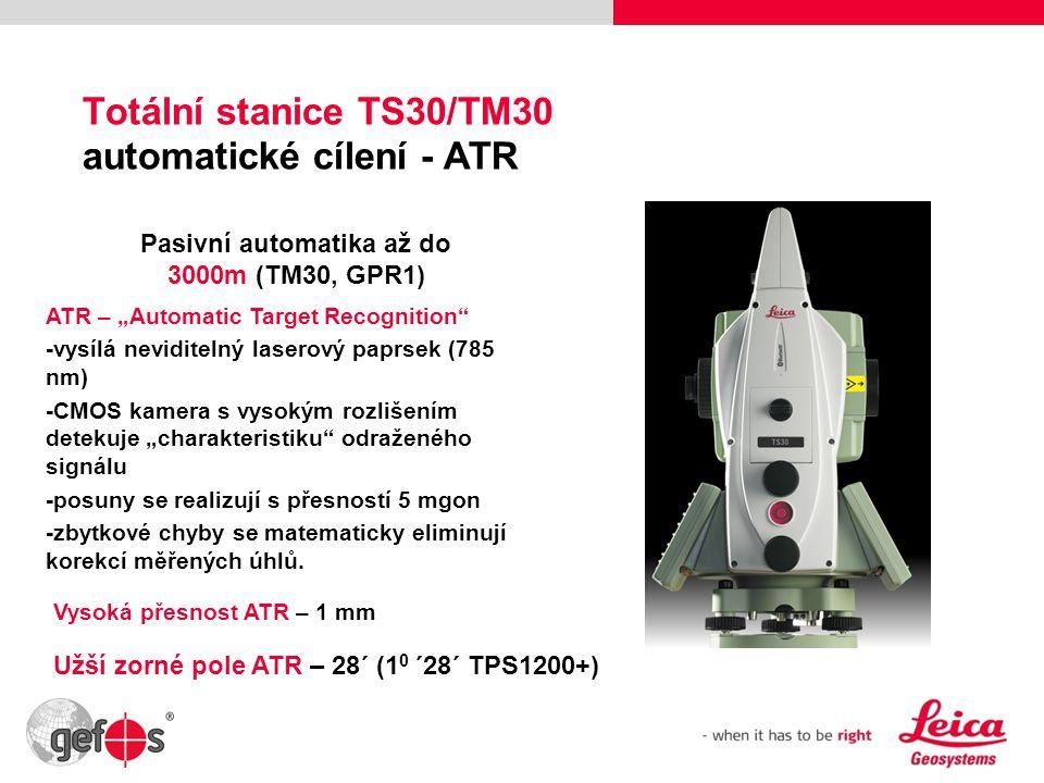 Totální stanice TS30/TM30 automatické cílení - ATR