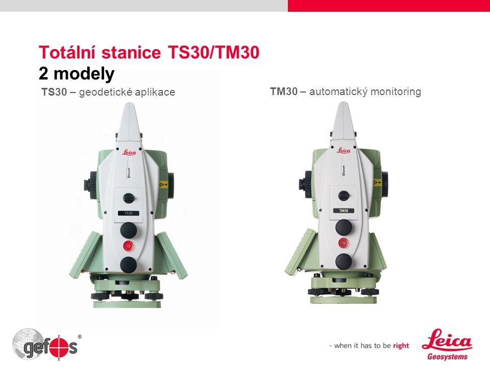 Totální stanice TS30/TM30 2 modely