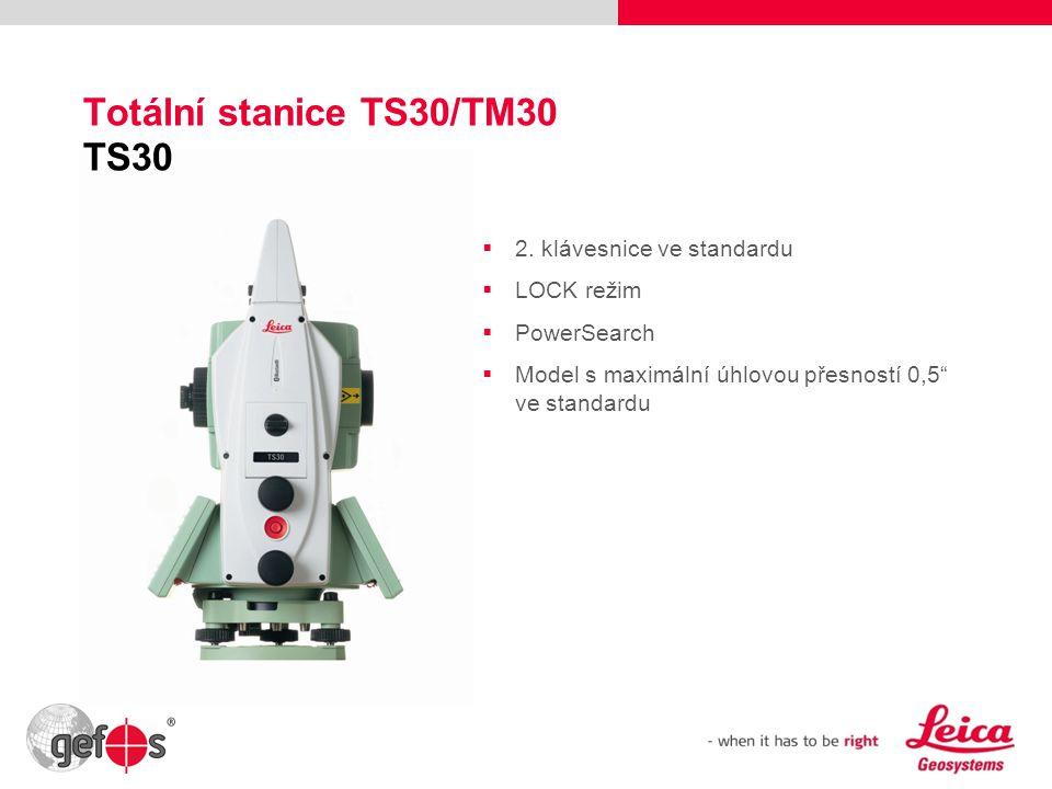 Totální stanice TS30/TM30 TS30