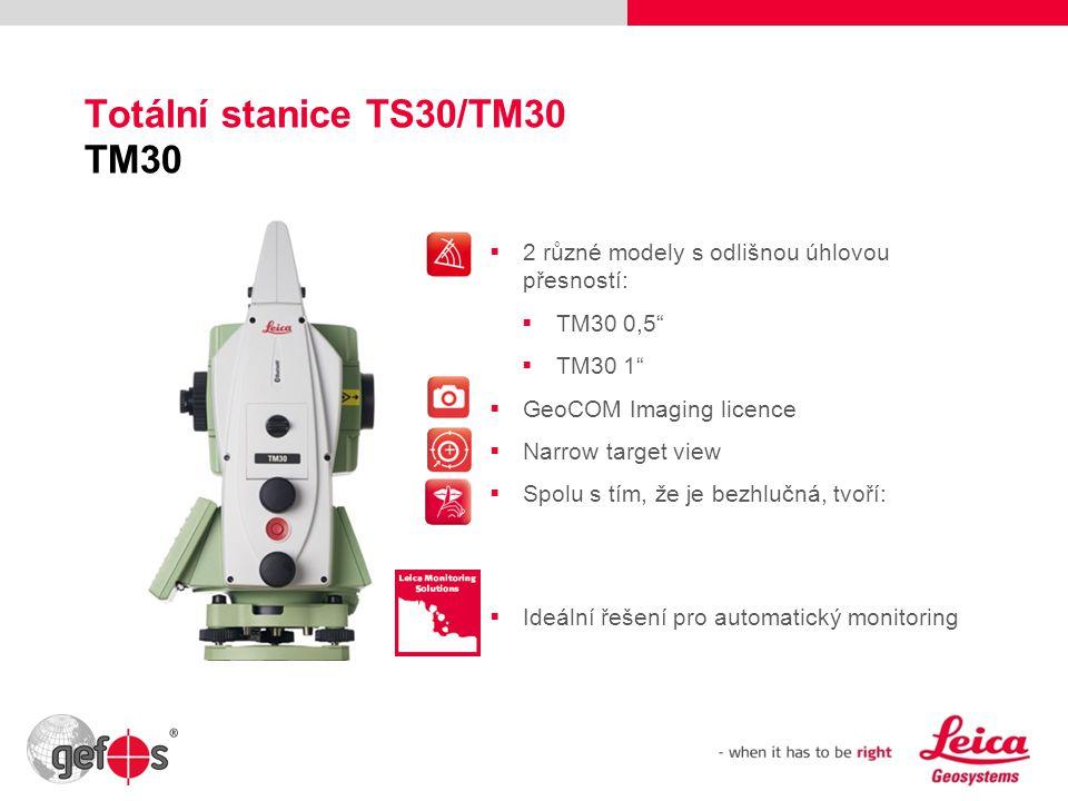 Totální stanice TS30/TM30 TM30