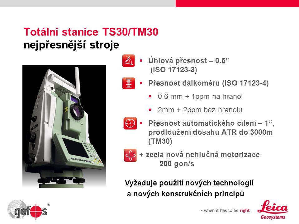 Totální stanice TS30/TM30 nejpřesnější stroje
