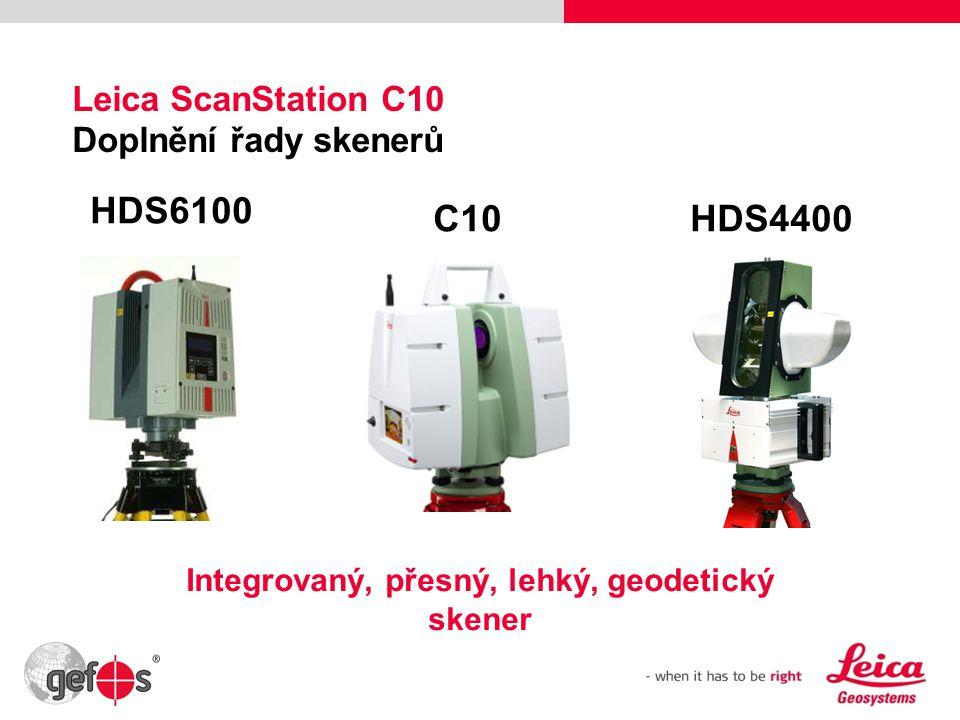 Leica ScanStation C10 Doplnění řady skenerů