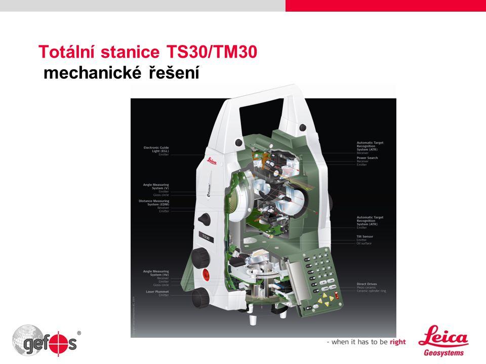 Totální stanice TS30/TM30 mechanické řešení