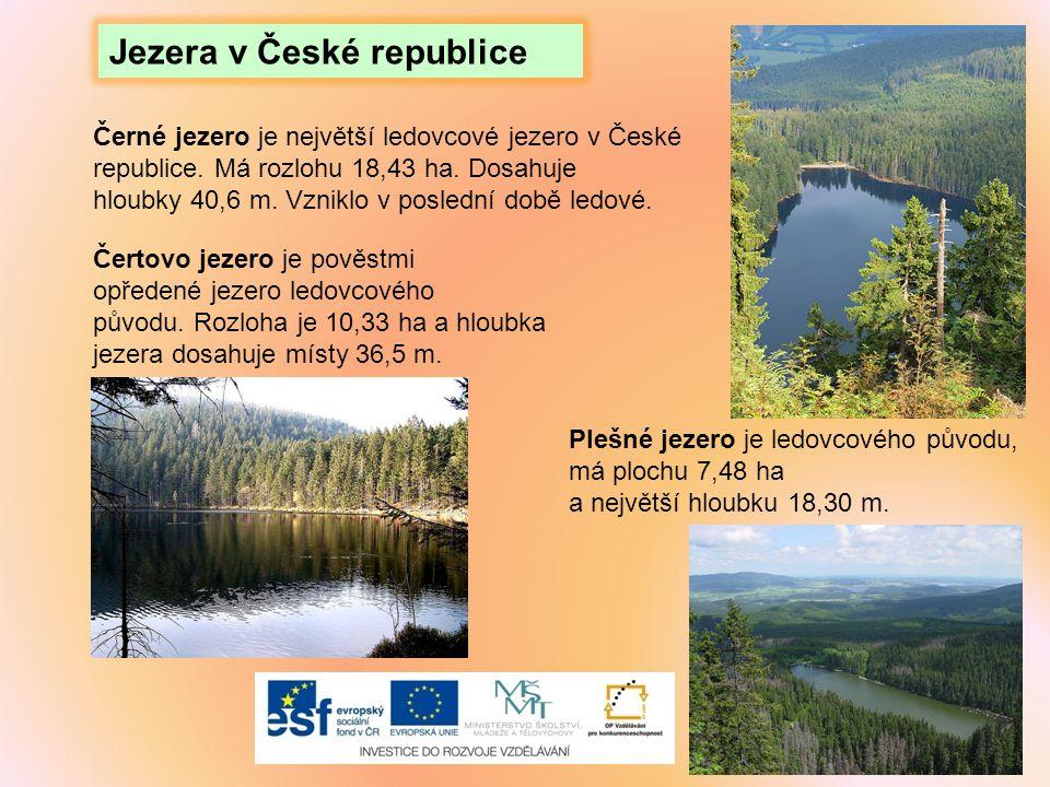 Jezera v České republice