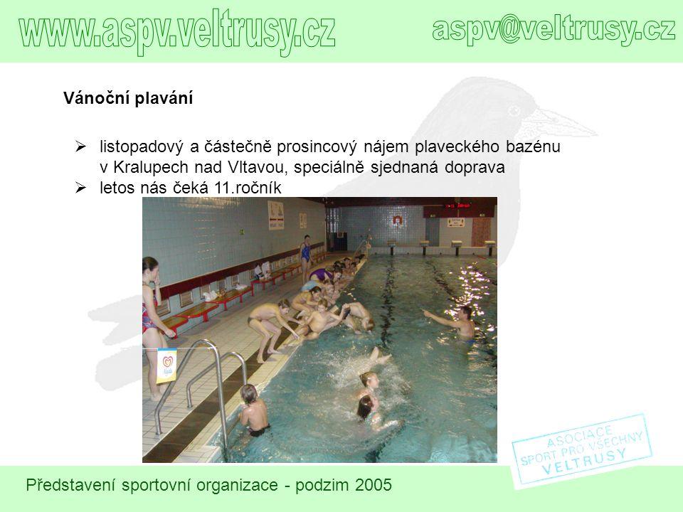 www.aspv.veltrusy.cz aspv@veltrusy.cz Vánoční plavání