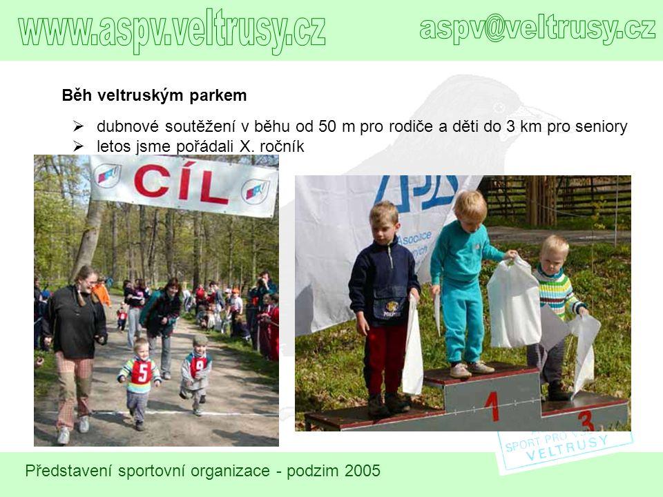 www.aspv.veltrusy.cz aspv@veltrusy.cz Běh veltruským parkem