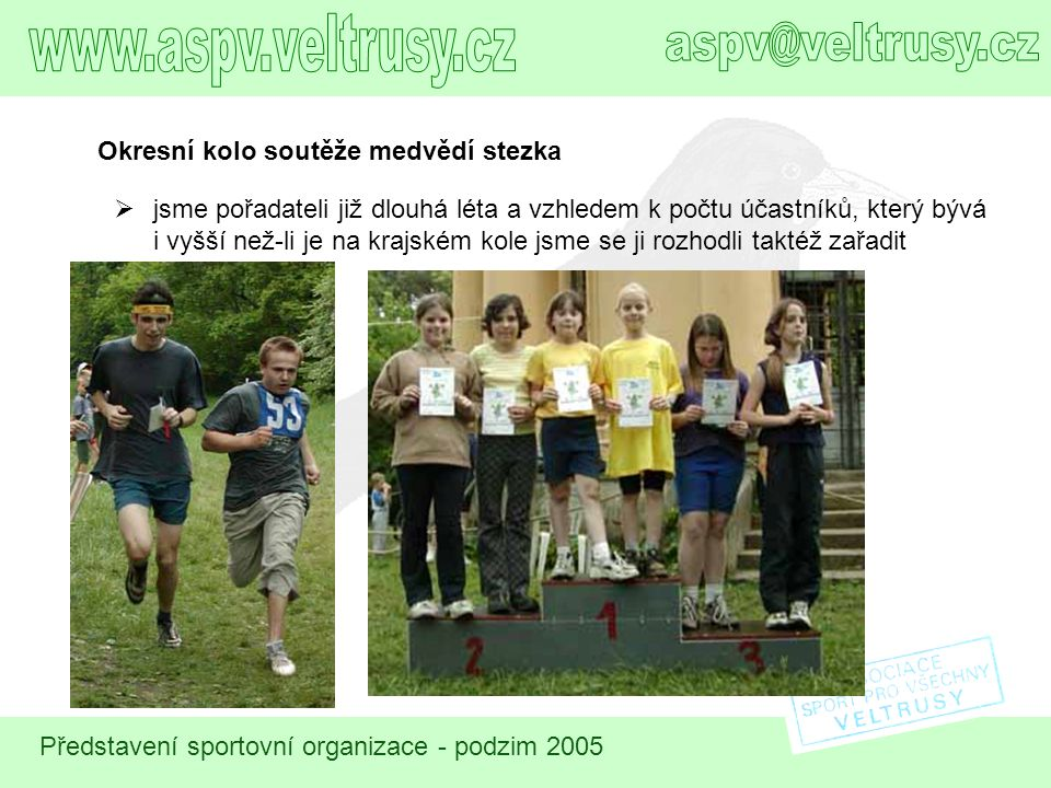 www.aspv.veltrusy.cz aspv@veltrusy.cz