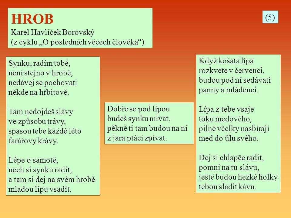 HROB (5) Karel Havlíček Borovský