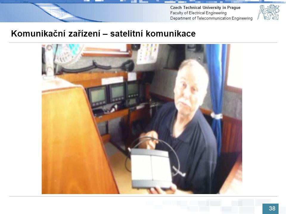 Komunikační zařízení – satelitní komunikace