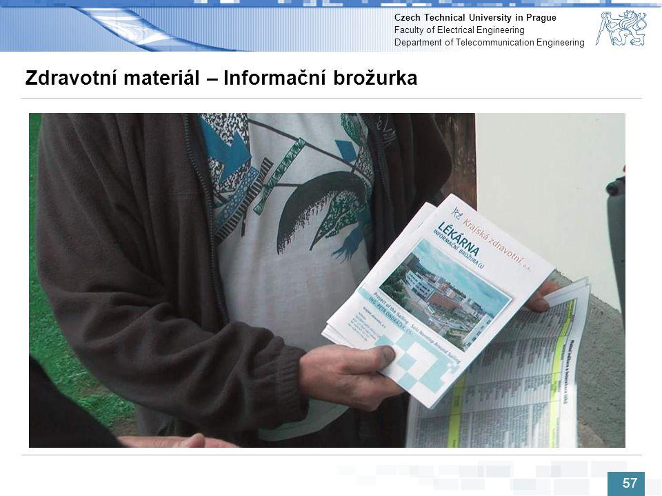 Zdravotní materiál – Informační brožurka