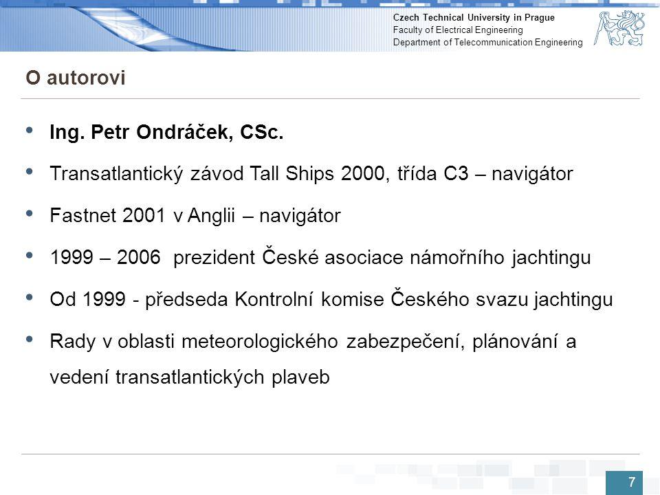 Transatlantický závod Tall Ships 2000, třída C3 – navigátor