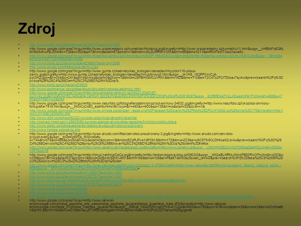 Zdroj http://www.biolib.cz/cz/taxonimage/id23987/ taxonid=13306
