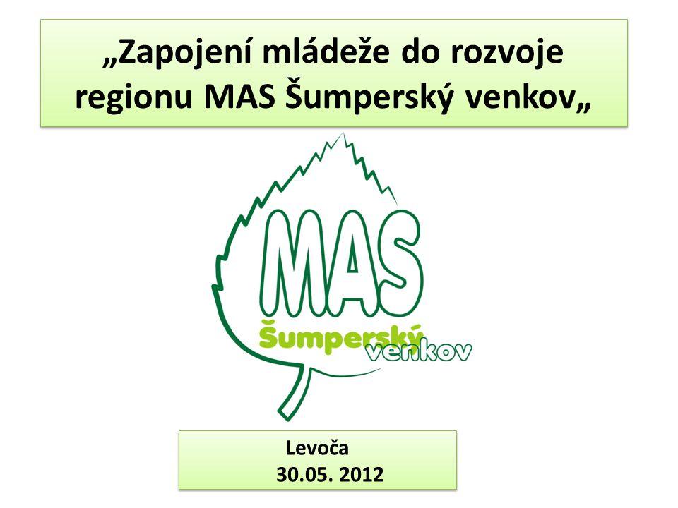 """""""Zapojení mládeže do rozvoje regionu MAS Šumperský venkov"""""""