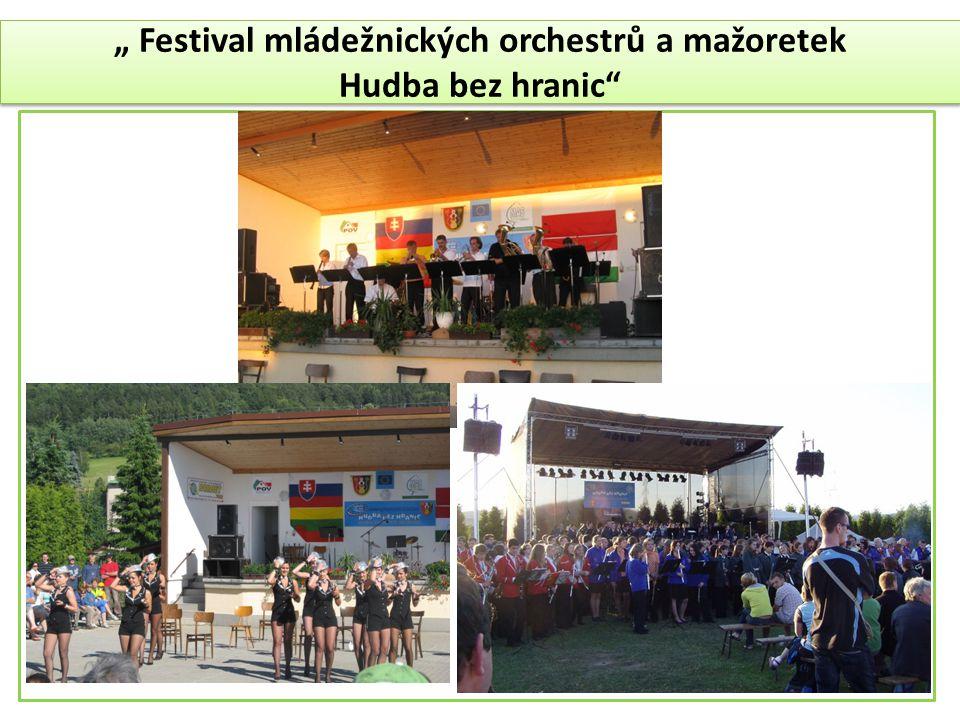 """"""" Festival mládežnických orchestrů a mažoretek"""