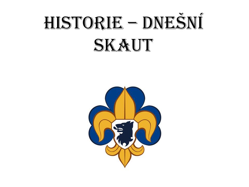 Historie – dnešní Skaut