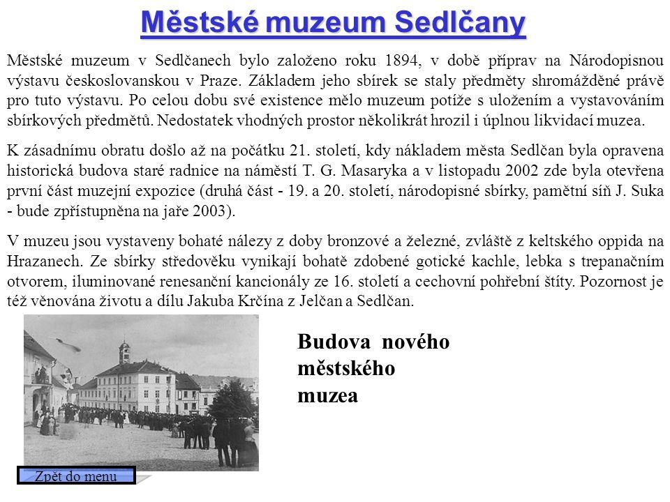 Budova nového městského muzea