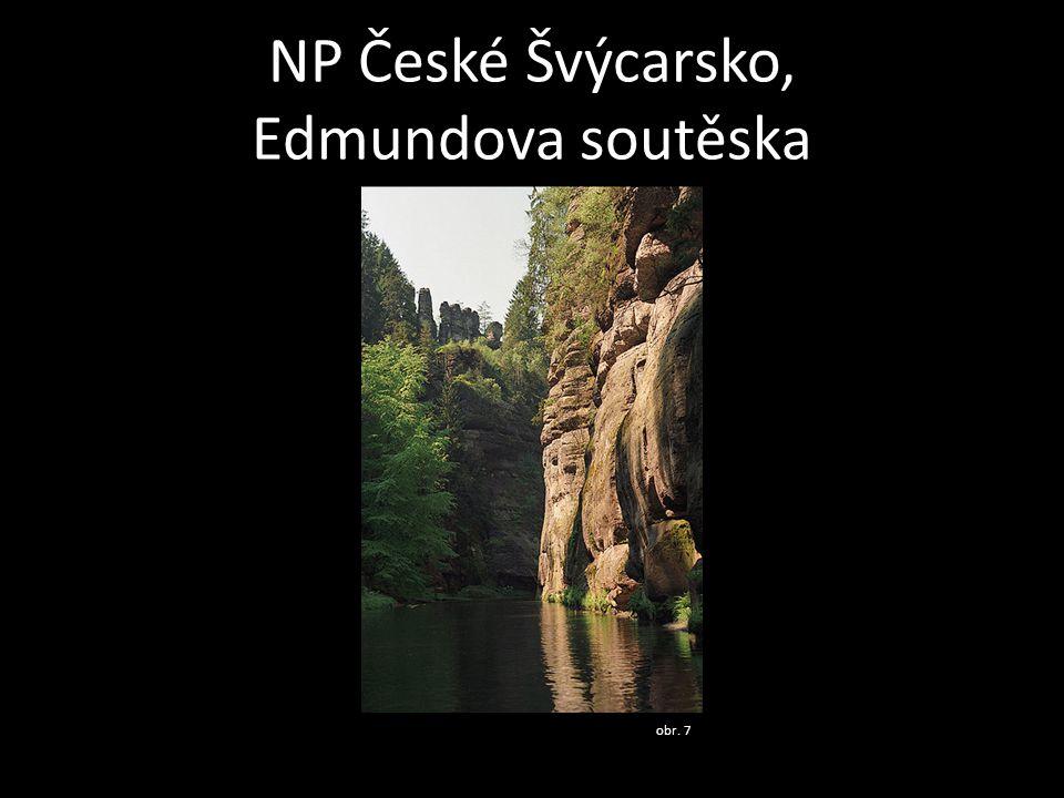 NP České Švýcarsko, Edmundova soutěska