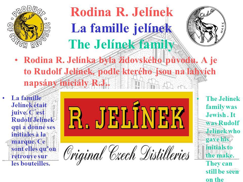 Rodina R. Jelínek La famille jelínek The Jelínek family