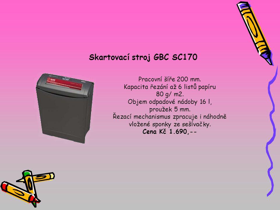 Skartovací stroj GBC SC170