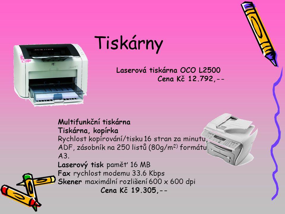 Laserová tiskárna OCO L2500