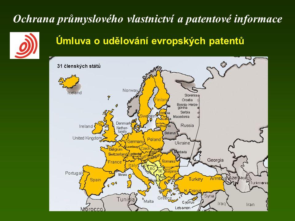 Úmluva o udělování evropských patentů