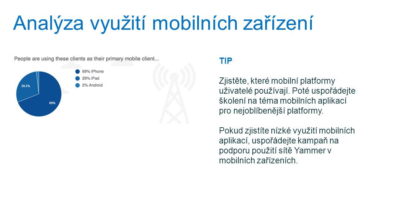 Analýza využití mobilních zařízení