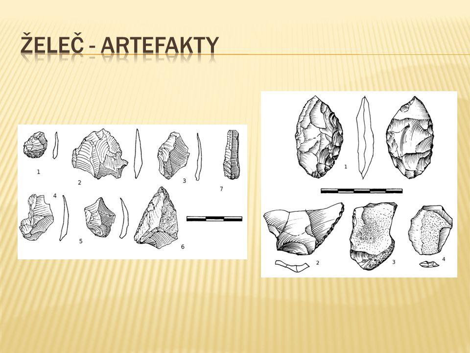 Želeč - artefakty