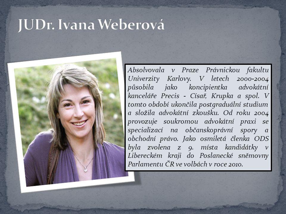 JUDr. Ivana Weberová