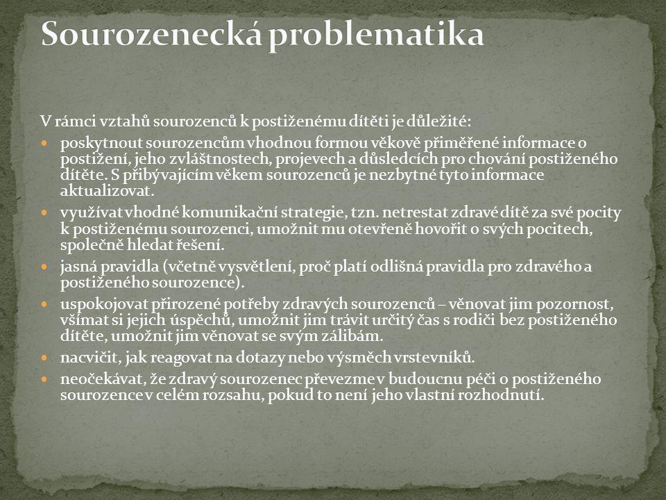 Sourozenecká problematika