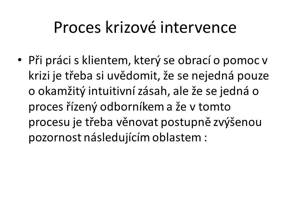 Proces krizové intervence
