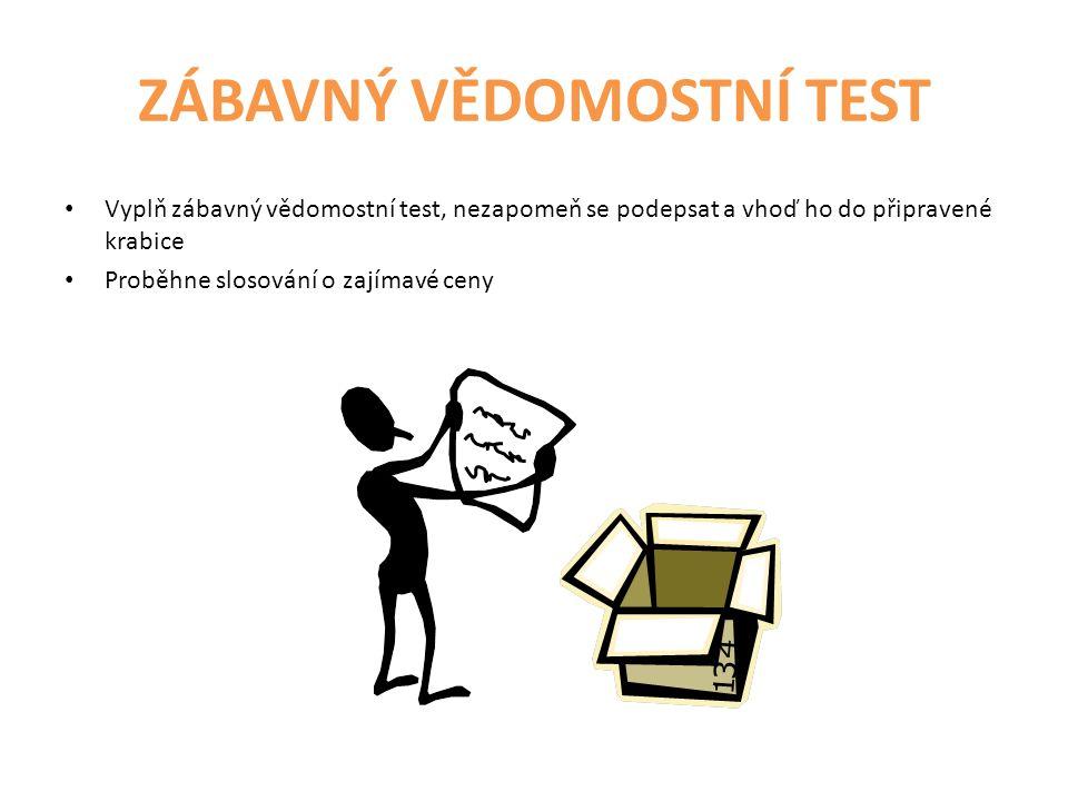 ZÁBAVNÝ VĚDOMOSTNÍ TEST