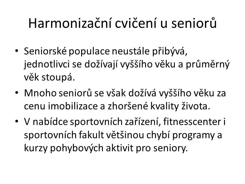 Harmonizační cvičení u seniorů