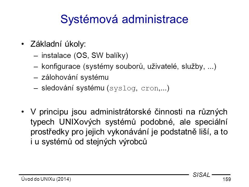 Systémová administrace