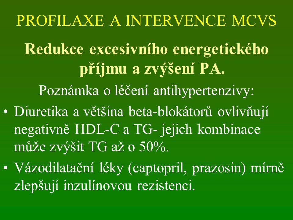 PROFILAXE A INTERVENCE MCVS