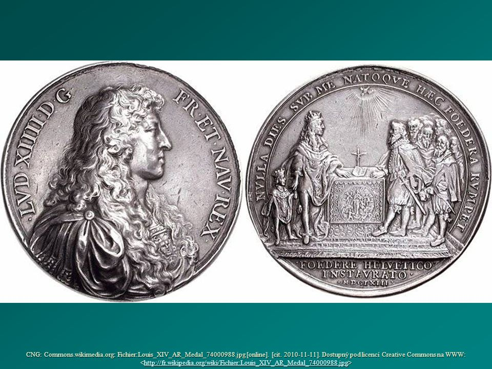CNG: Commons. wikimedia. org: Fichier:Louis_XIV_AR_Medal_74000988