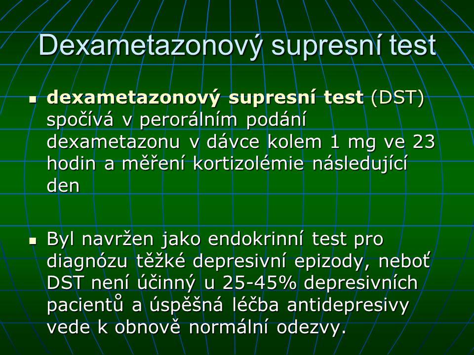 Dexametazonový supresní test
