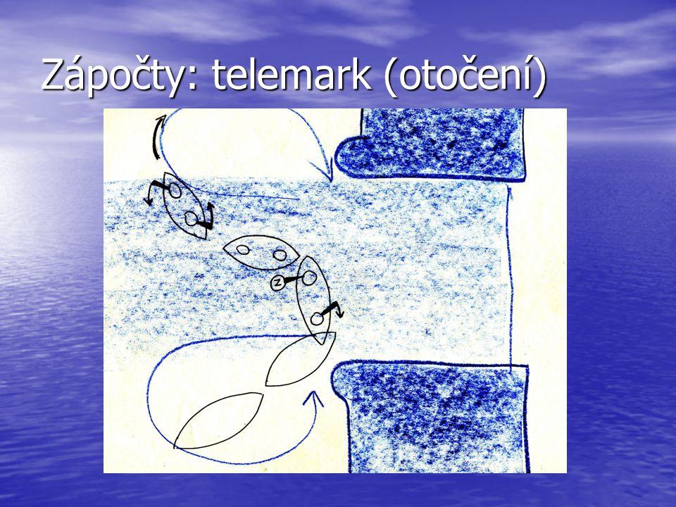 Zápočty: telemark (otočení)