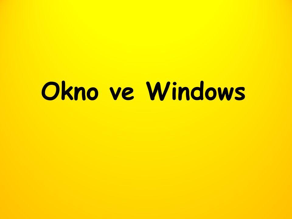 Okno ve Windows