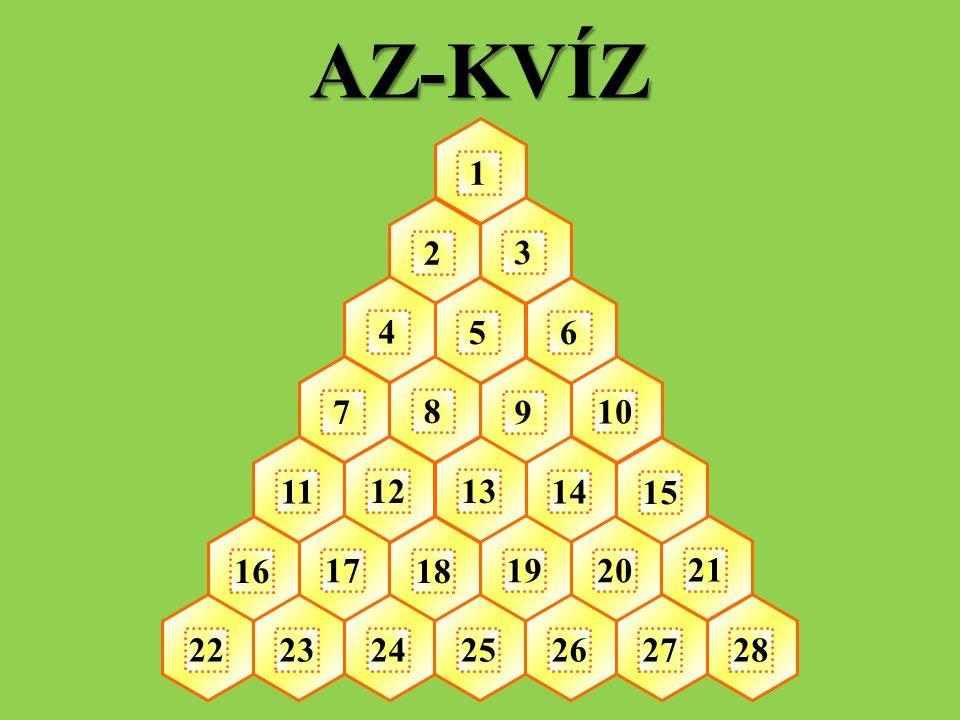 AZ-KVÍZ 1 2 3 4 5 6 7 8 9 10 11 12 13 14 15 16 17 18 19 20 21 22 23 24 25 26 27 28