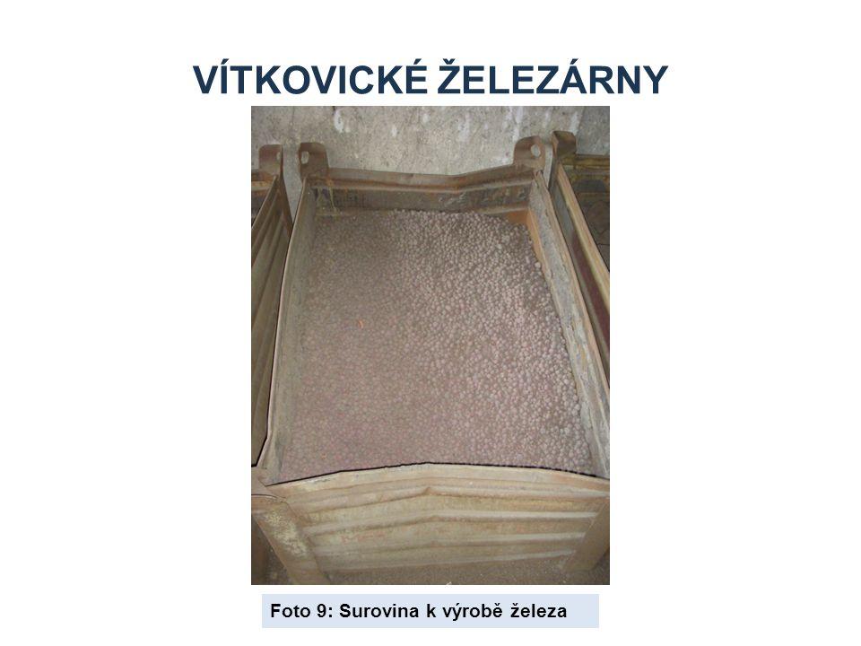 Vítkovické železárny Foto 9: Surovina k výrobě železa