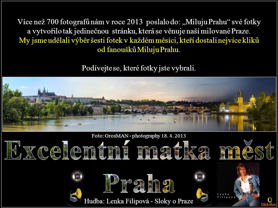 Excelentní matka měst Praha