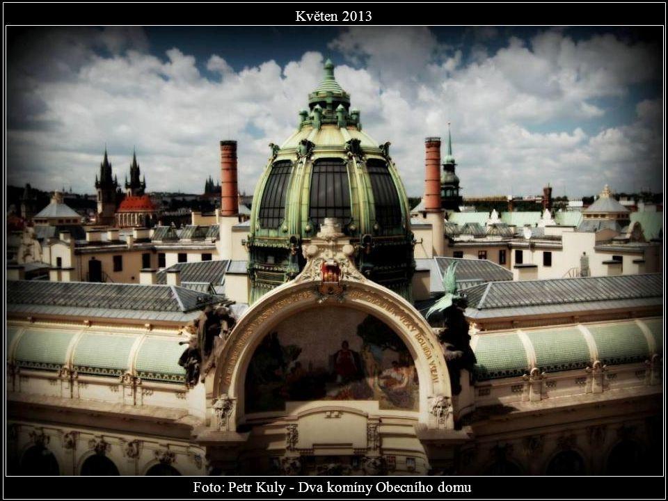 Foto: Petr Kuly - Dva komíny Obecního domu