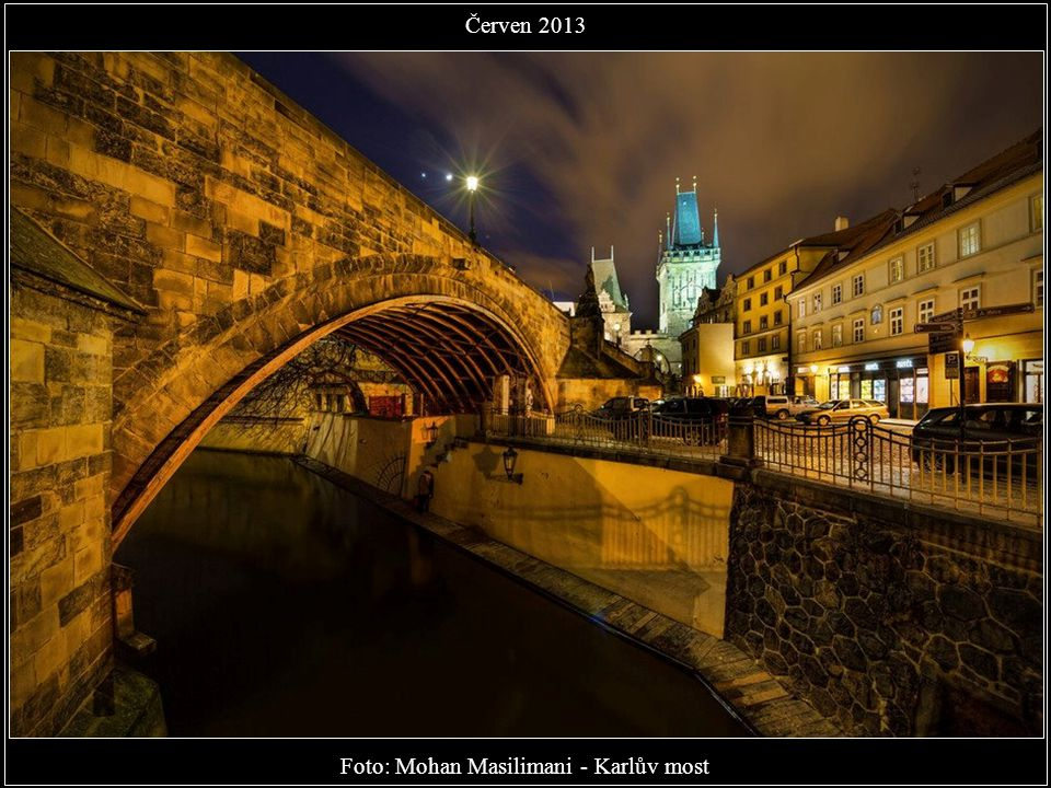 Foto: Mohan Masilimani - Karlův most