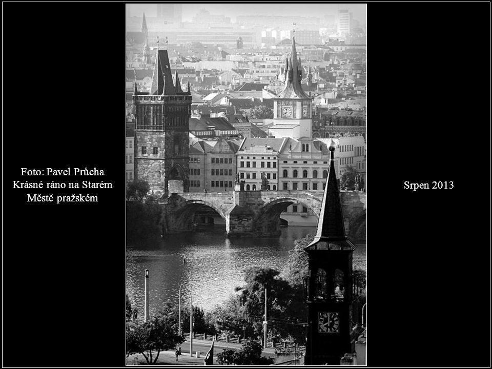 Krásné ráno na Starém Městě pražském