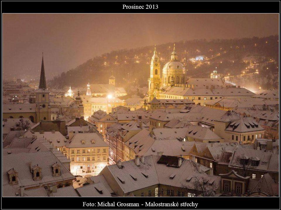 Foto: Michal Grosman - Malostranské střechy